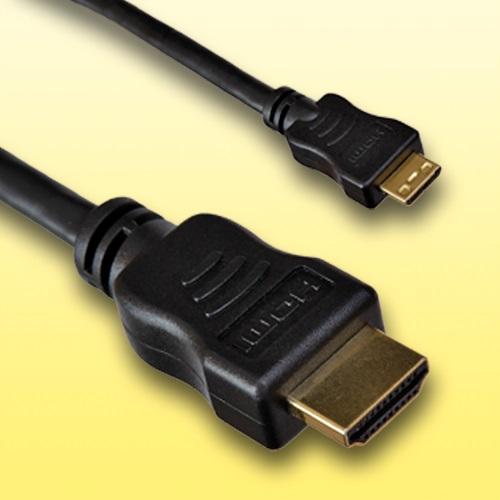HDMI-Kabel-fuer-Nikon-Coolpix-S9400-Micro-D-Laenge-2m-vergoldet
