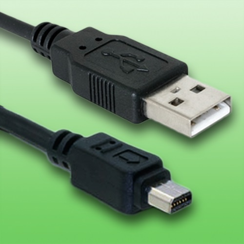 Cable USB para olympus tg-835 cámara digitalcable de datos de longitud1,5m