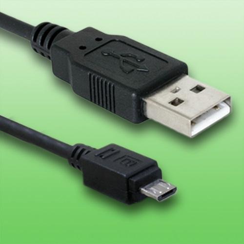 Cable USB para Panasonic Lumix dmc-gx80cable de datos de longitud2mdorado